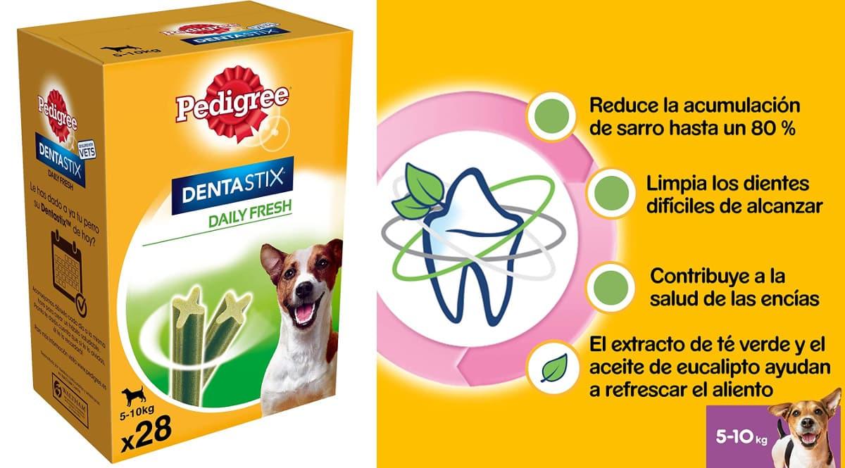 Pack Pedigree Dentastix Fresh barato, productos para mascotas baratos, ofertas en supermercado chollo