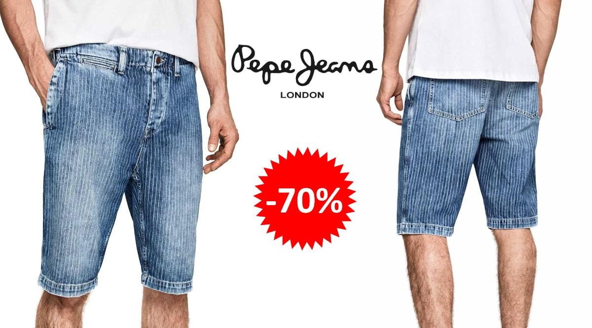 Pantalón corto Pepe Jeans Trade barato, ropa de marca barata, ofertas en pantalones chollo