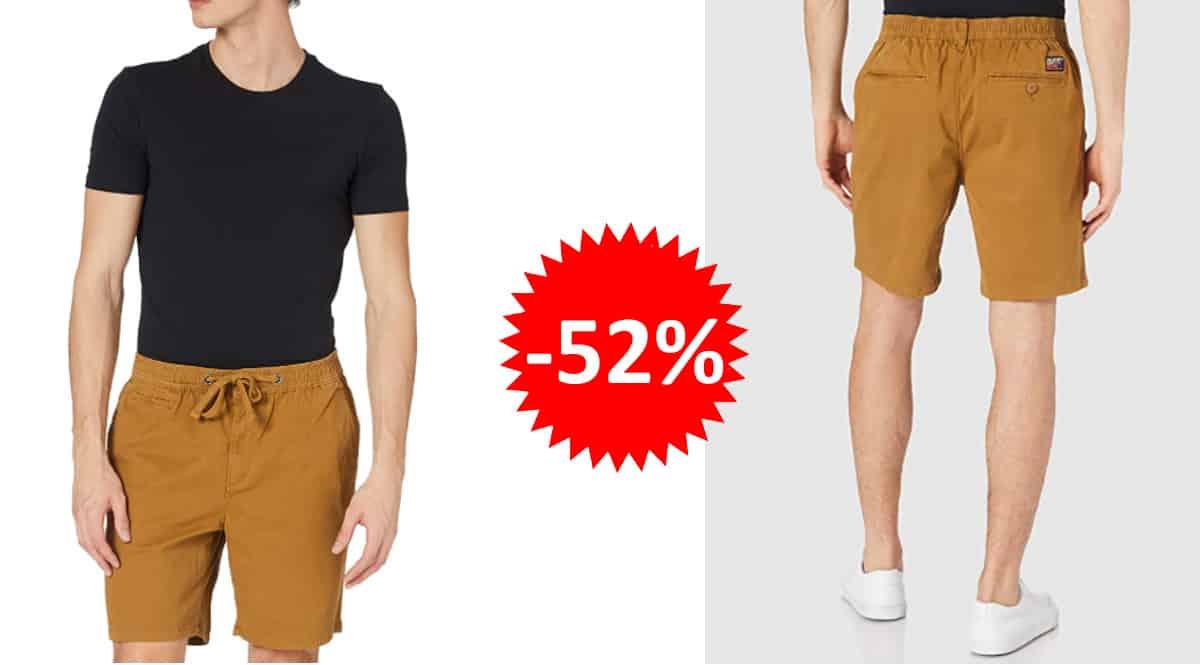 Pantalón corto Superdry Sunscorched Chino Short barato, pantalón corto de marca barato, ofertas en ropa, chollo