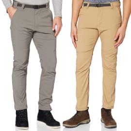 Pantalón de senderismo convertible Wrangler All Terrain Gear barato, pantalones de marca baratos, ofertas ropa deporte