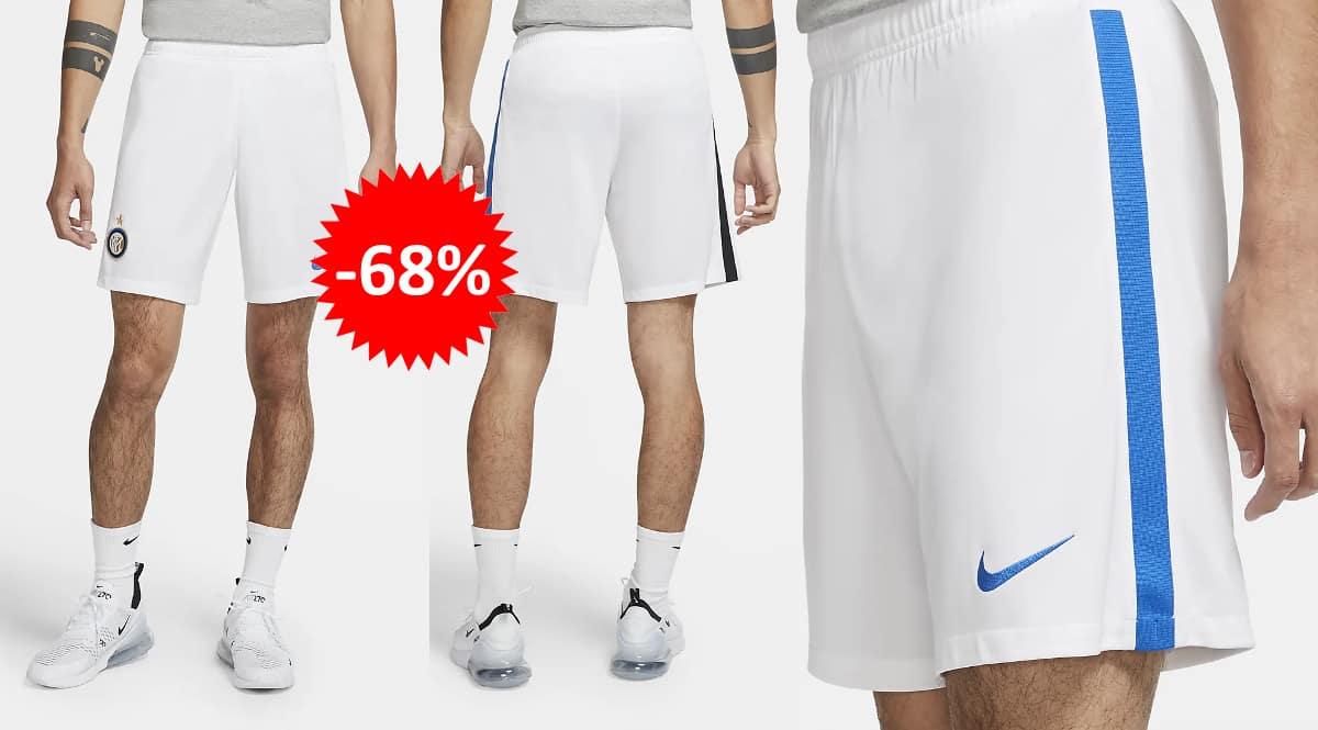 Pantalones cortos Nike Inter de Milán baratos, ropa de marca barata, ofertas en ropa deportiva chollo