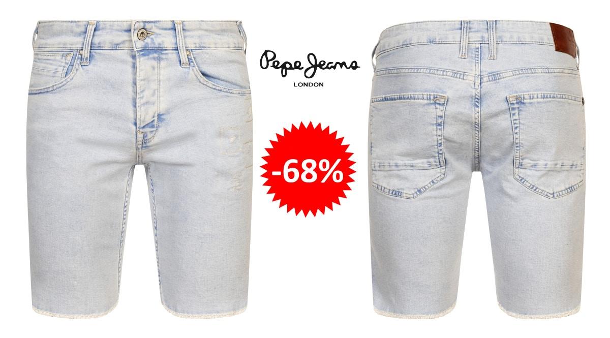 Pantalones cortos Pepe Jeans baratos, ropa de marca barata, ofertas en ropa chollo