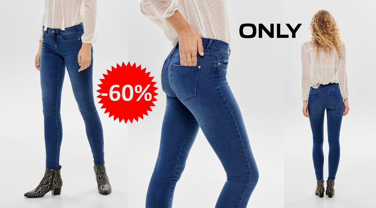 Pantalones vaqueros para mujer Only Onlroyal Medium baratos, vaqueros de marca abratos, ofertas en ropa, chollo