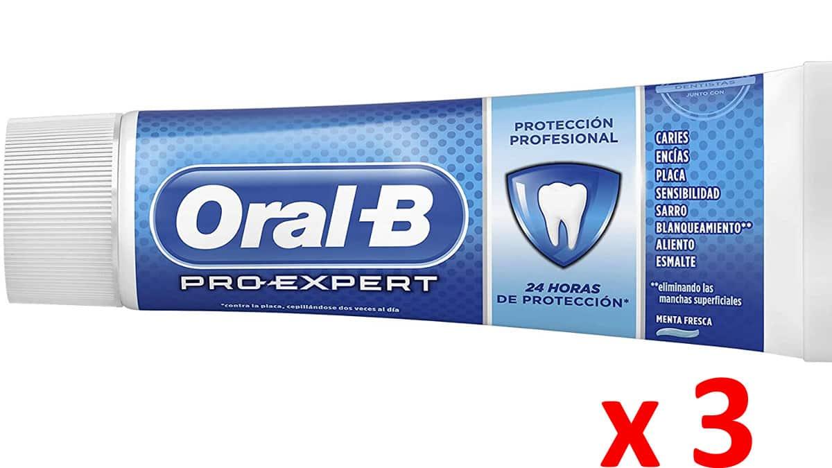 Pasta de dientes Oral-B barata-dentfrico-de-marca-barato-ofertas-supermercado-chollo