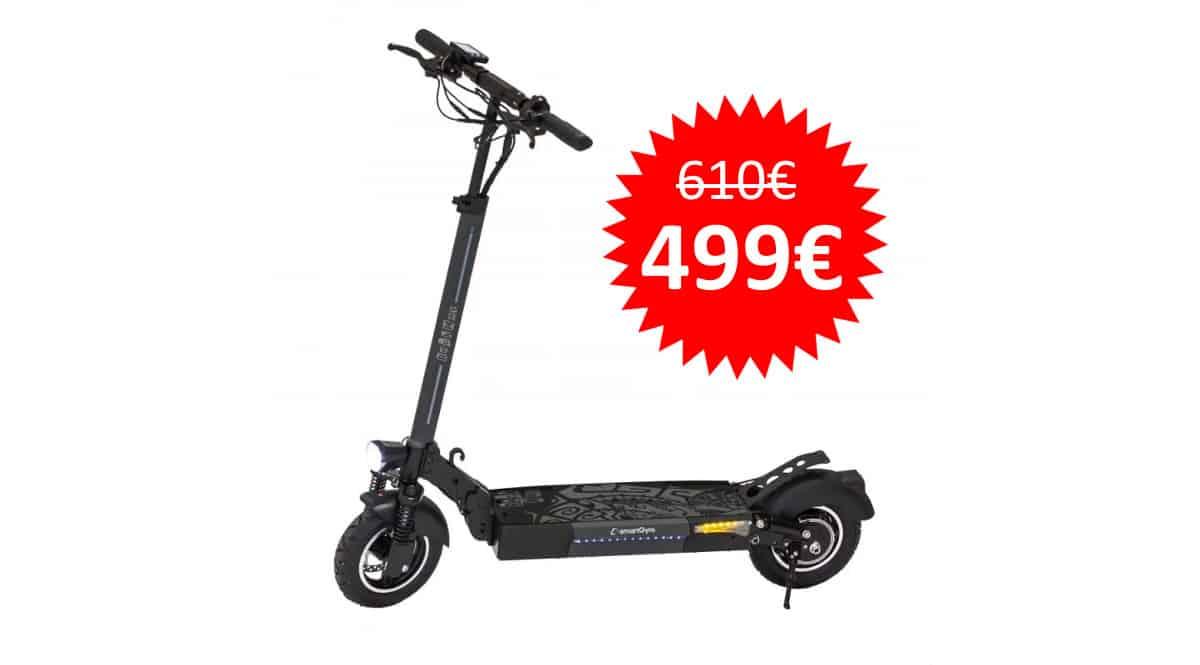 ¡¡Chollo!! Patinete eléctrico SmartGyro Rockway sólo 499 euros. Te ahorras 111 euros.