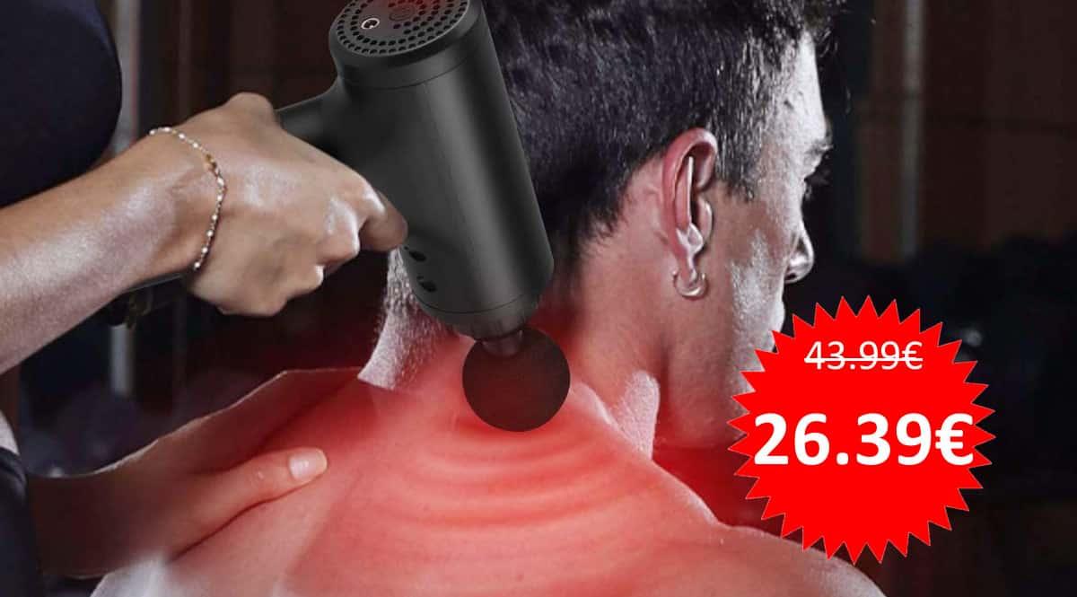 Pistola masajeadora muscular Anself barata. Ofertas en masajeadores, masajeadores baratos, chollo