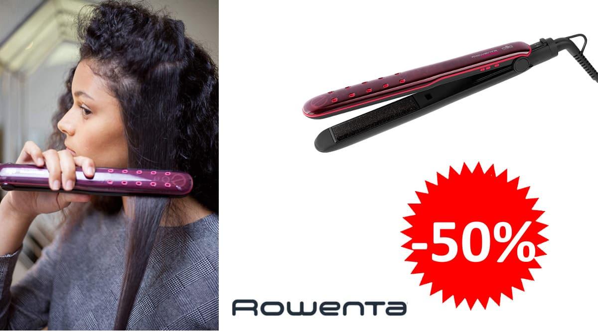 Planchas de pelo con keratina Rowenta Express Liss Elite SF4012