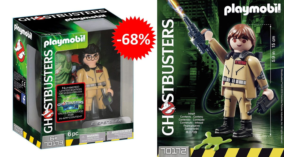 Playmobil Ghostbusters Edición Limitada barato, juguetes baratos, ofertas para niños chollo