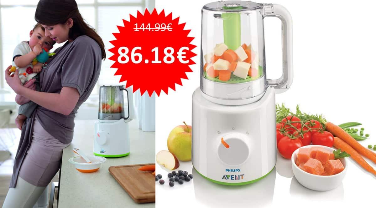 ¡¡Chollo!! Procesador de alimentos Philips Avent SCF870/20 sólo 86 euros. Ahórrate 58 euros.