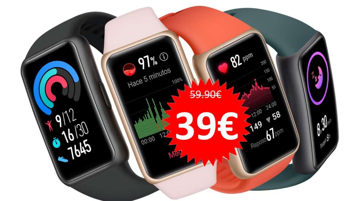Pulsera Huawei Band 6 barata. Ofertas en pulseras de actividad, pulseras de actividad baratas,chollo