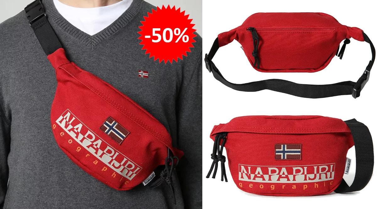 Riñonera Napapijri Hering barata, bolsos de marca baratos, ofertas en complementos chollo