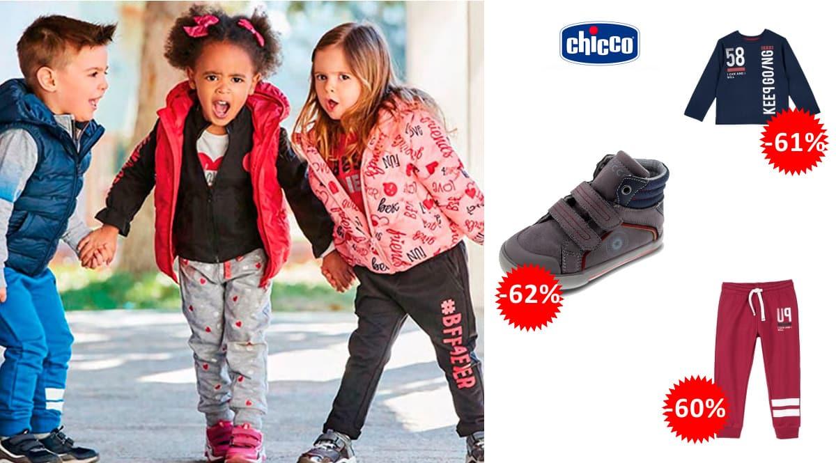 Ropa y calzado Chicco para niños barato, ropa de marca barata, ofertas para niños, chollo