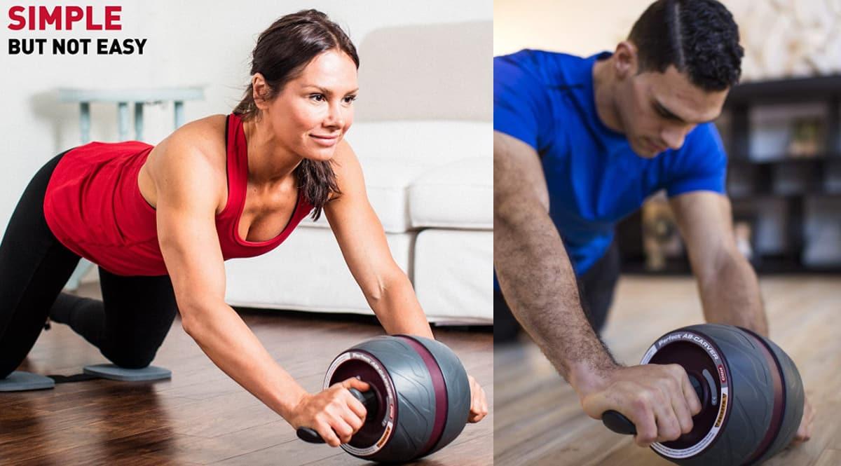 Rueda de abdominales Perfect Fitness Ab Carver Pro barato, rodillos de abdominales de marca baratos, ofertas en material deportivo, chollo
