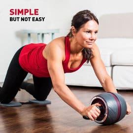 Rueda de abdominales Perfect Fitness Ab Carver Pro barato, rodillos de abdominales de marca baratos, ofertas en material deportivo
