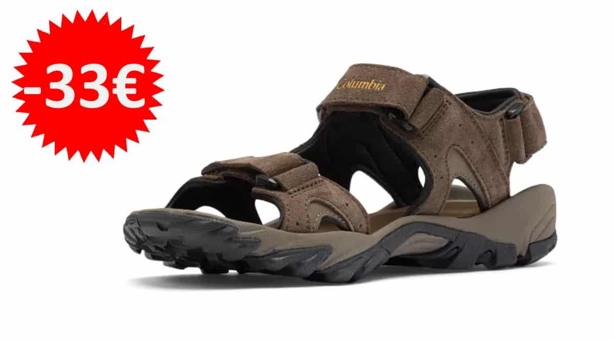 Sandalias para hombre Columbia Santiam 3-Strap-baratas-sandalias-de-marca-baratas-ofertas-en-calzado-chollo