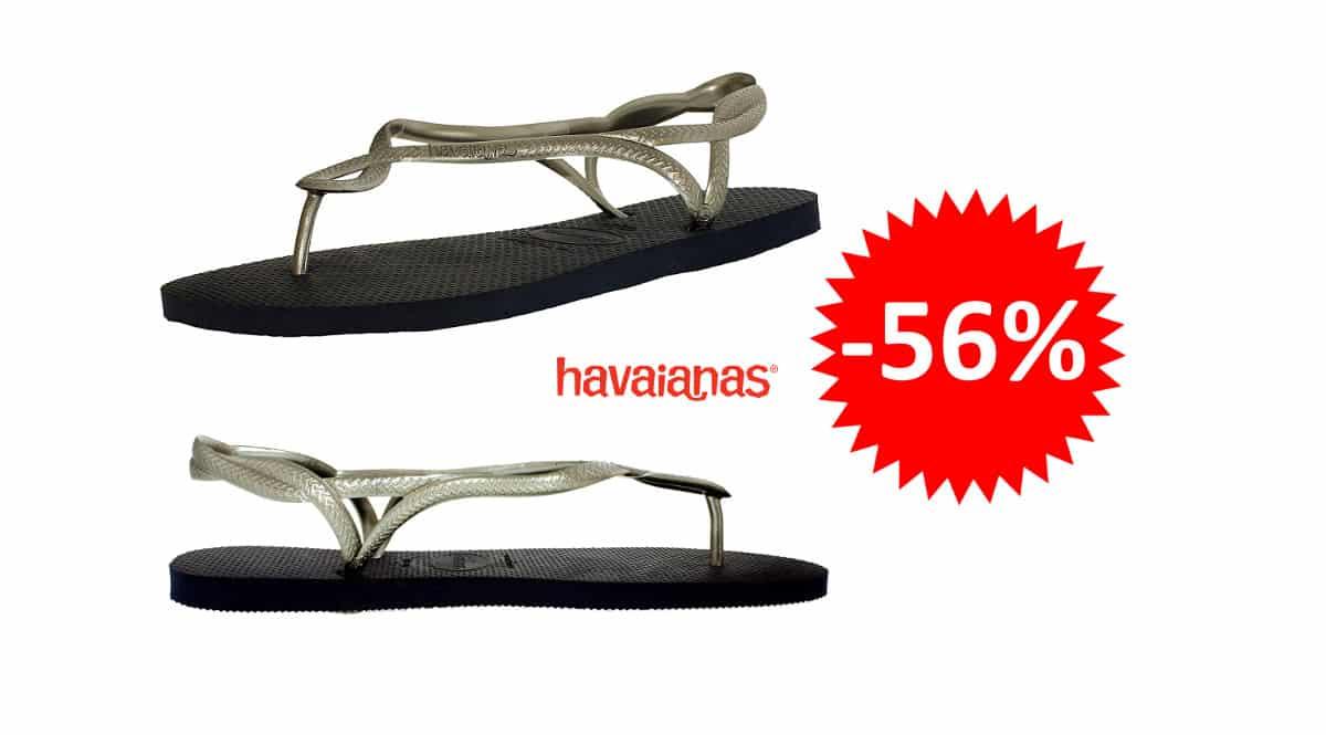 ¡¡Chollo!! Sandalias para mujer Havaianas Luna sólo 10.99 euros 56% de descuento.