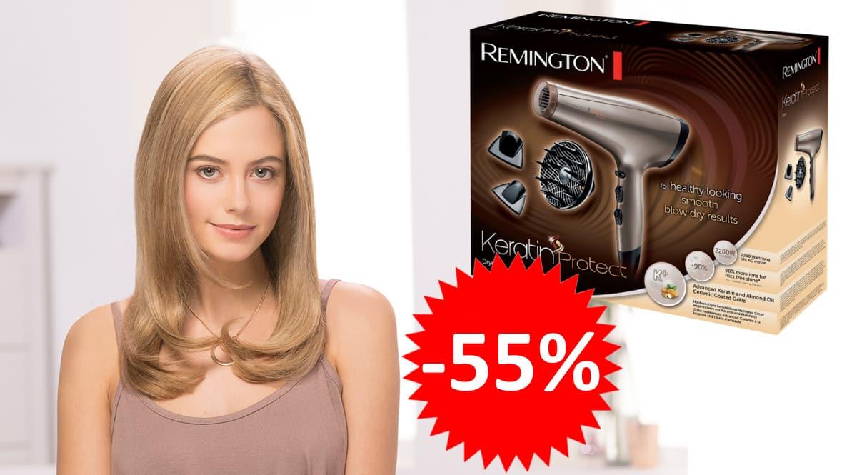 Secador Remington Keratin Protect AC8002 barato. Ofertas en secadores, secadores baratos, chollo