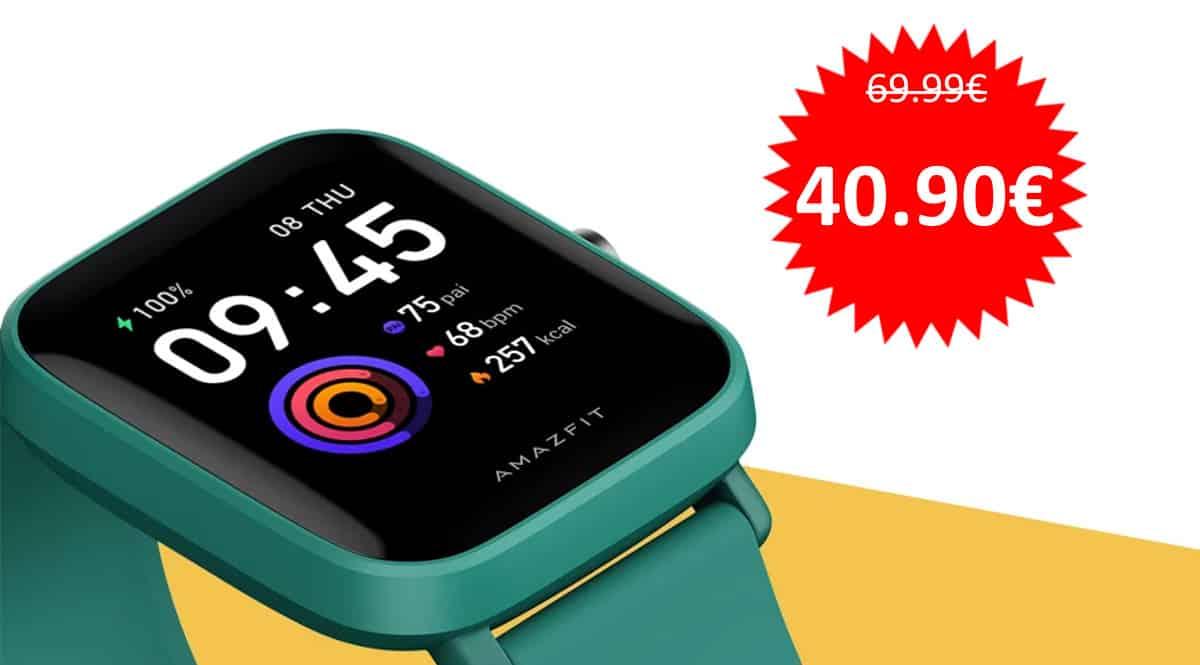 Smartwatch Amazfit Bit U Pro barato. Ofertas en smartwatches, smartwatches baratos, chollo