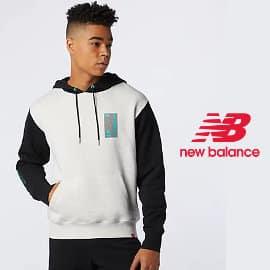 Sudadera New Balance Essentials Terrain Hoodie barata, ropa de marca barata, ofertas en sudaderas