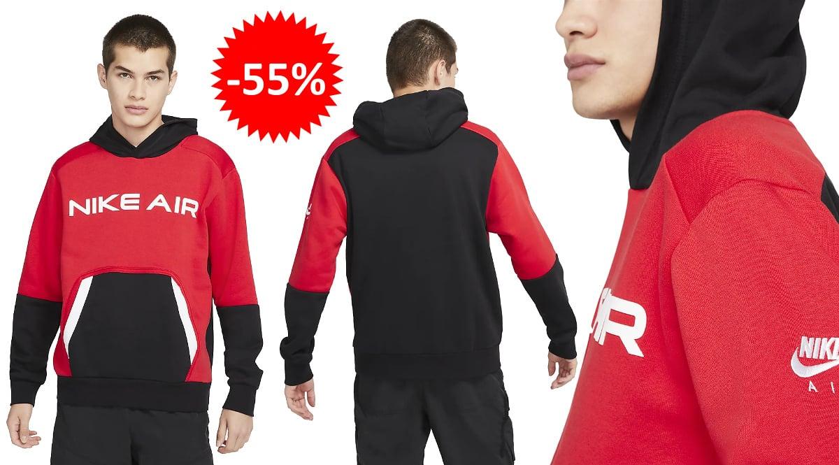 Sudadera Nike Air Pullover barata, ropa de marca barata, ofertas en sudaderas chollo