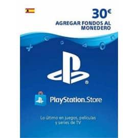 Tarjeta de 30€ de saldo para PS Store barata. Ofertas en videojuegos, videojuegos baratos