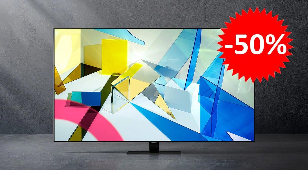 Televisor Samsung QLED QE75Q80TATXXC barato. Ofertas en televisores, televisores baratos, chollo