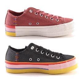 Zapatillas Converse Chuck Taylor All Star Lift baratas, calzado de marca barato, ofertas en zapatillas
