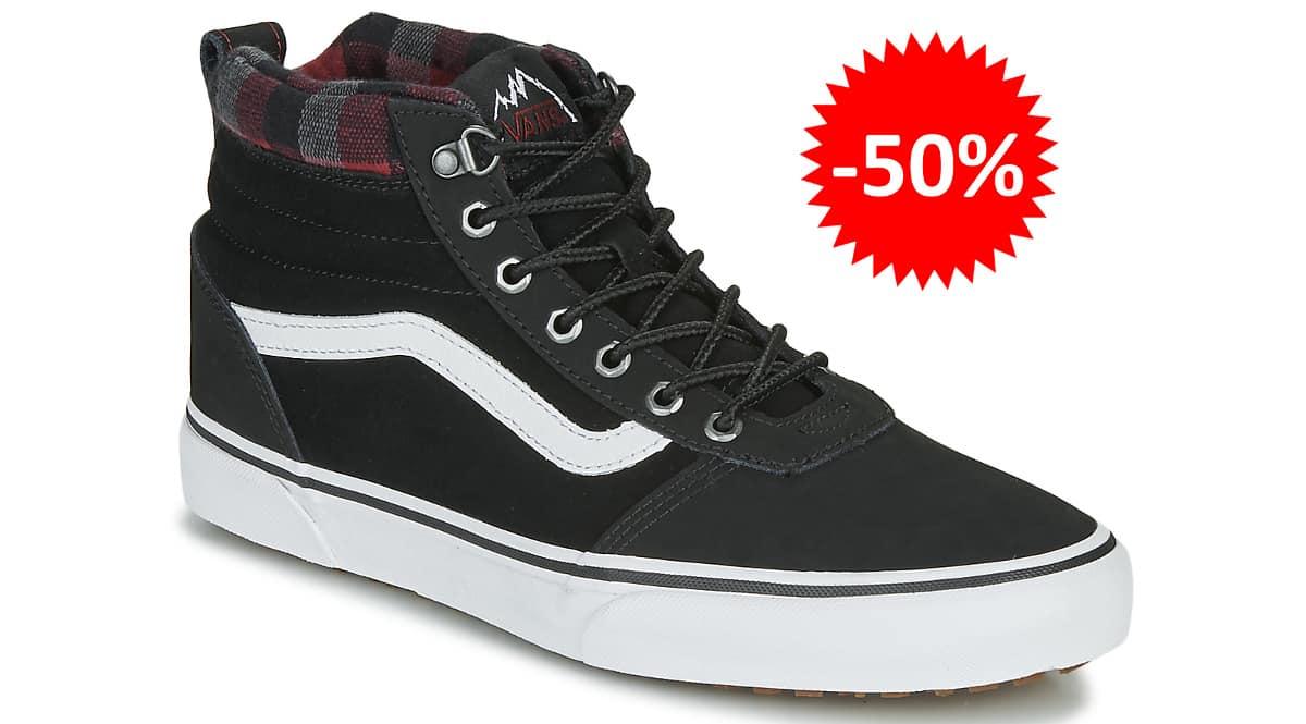 Zapatillas Vans Ward Hi MTE baratas, calzado de marca barato, ofertas en zapatillas chollo