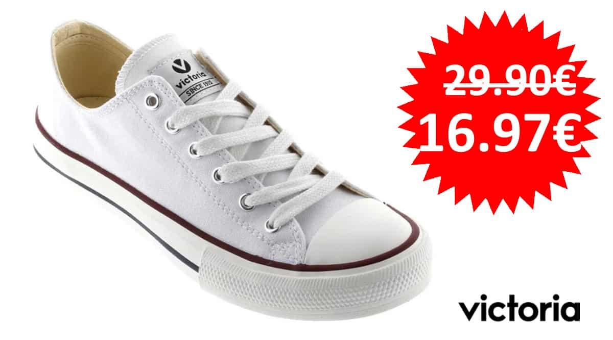 Zapatillas de lona Victoria baratas, zapatillas de marca baratas, ofertas en calzado, chollo