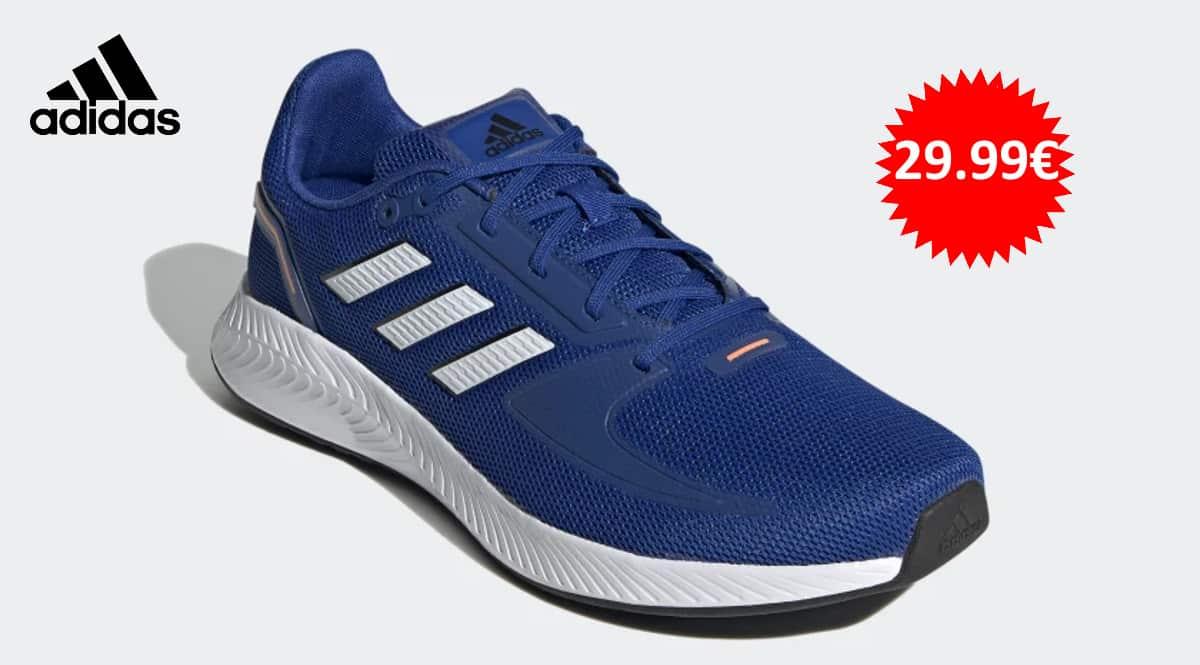 Zapatillas de running Adidas Runfalcon 2.0 baratas, zapatillas de correr de marca baratas, ofertas calzado, chollo