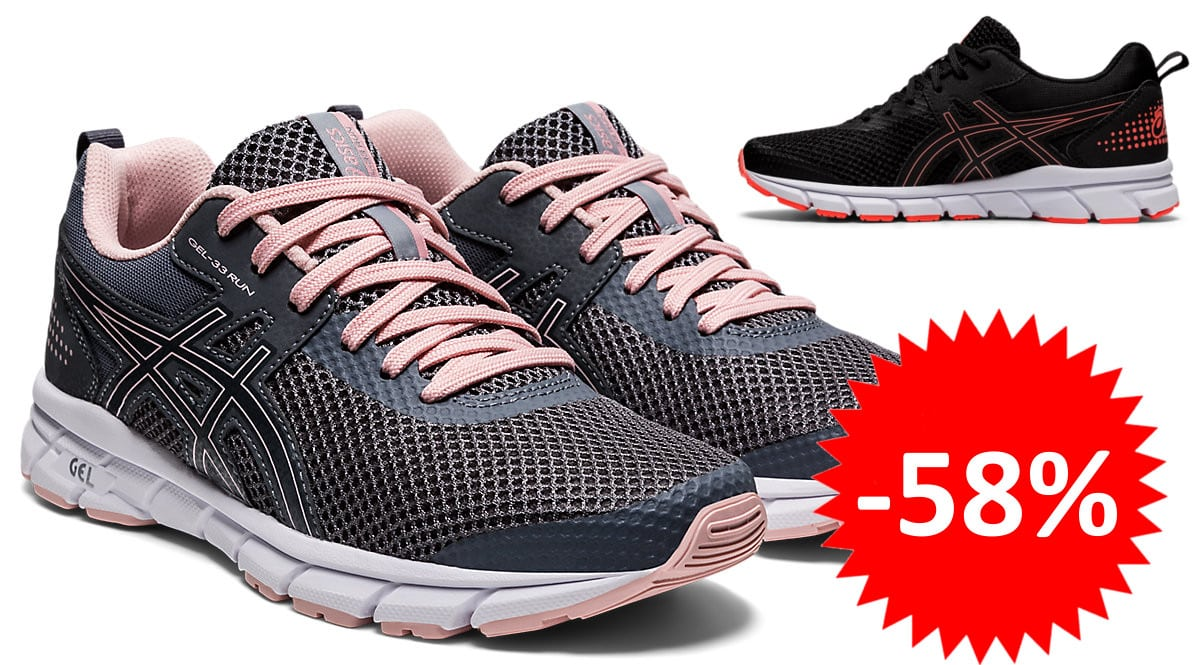 Zapatillas de running Asics Gel-33 Run baratas. Ofertas en zapatillas de running, zapatillas de running baratas, chollo