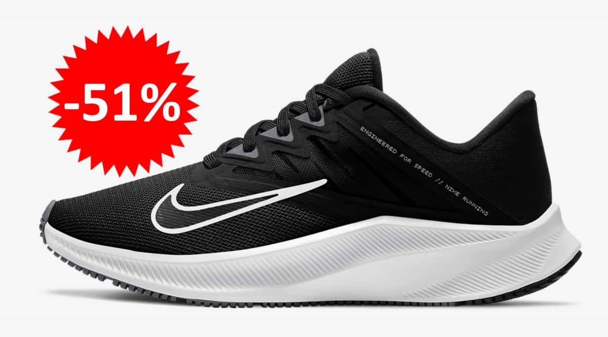 Zapatillas de running Nike Quest 3 para mujer baratas. Ofertas en zapatillas de running, zapatillas de running baratas, chollo