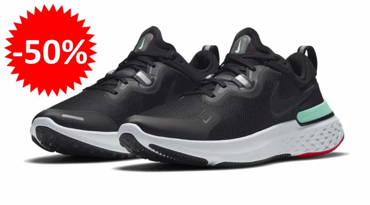 Zapatillas de running Nike React Miler baratas. Ofertas en zapatillas de running, zapatillas de running baratas, chollo