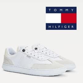 Zapatillas para hombre Tommy Hilfiger Seasonal Leather Mix baratas, zapatillas de marca baratas, ofertas en calzado