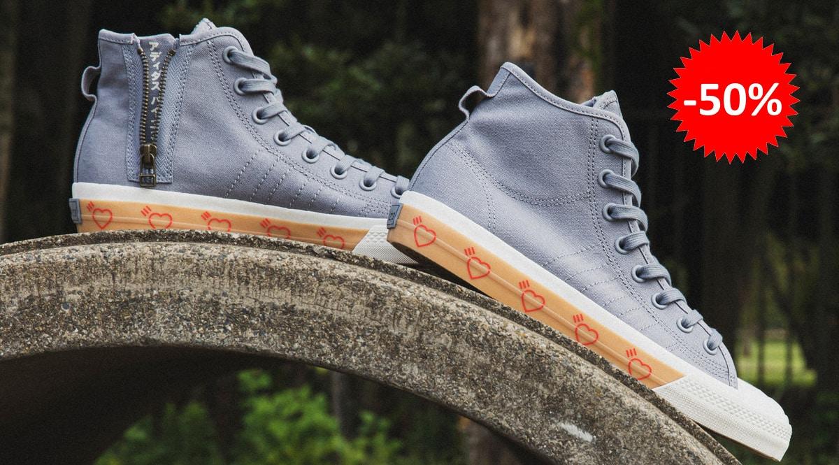 Zapatillas unisex Adidas x Human Made Nizza baratas, calzado de marca barato, ofertas en zapatillas chollo