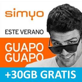 30GB de regalo con Simyo. Ofertas en tarifas móviles, tarifas móviles baratas