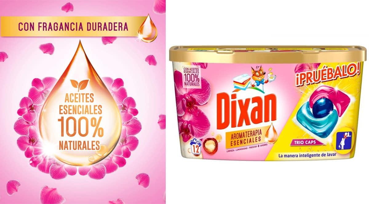 96 cápsulas de Dixan Aromaterapia Esenciales baratas. Ofertas en supermercado, chollo