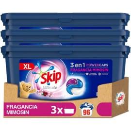 96 pastillas de detergente Skip Ultimate Mimosín barato. Ofertas en supermercado