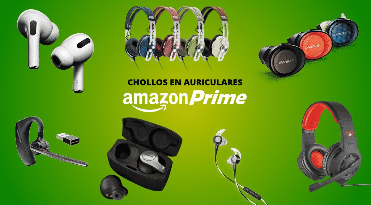 Los mejores chollos de Prime Day 2021 en auriculares y altavoces.