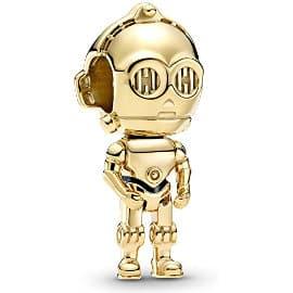 Abalorio Pandora Star Wars C-3PO barato, charms baratos, ofertas en joyería