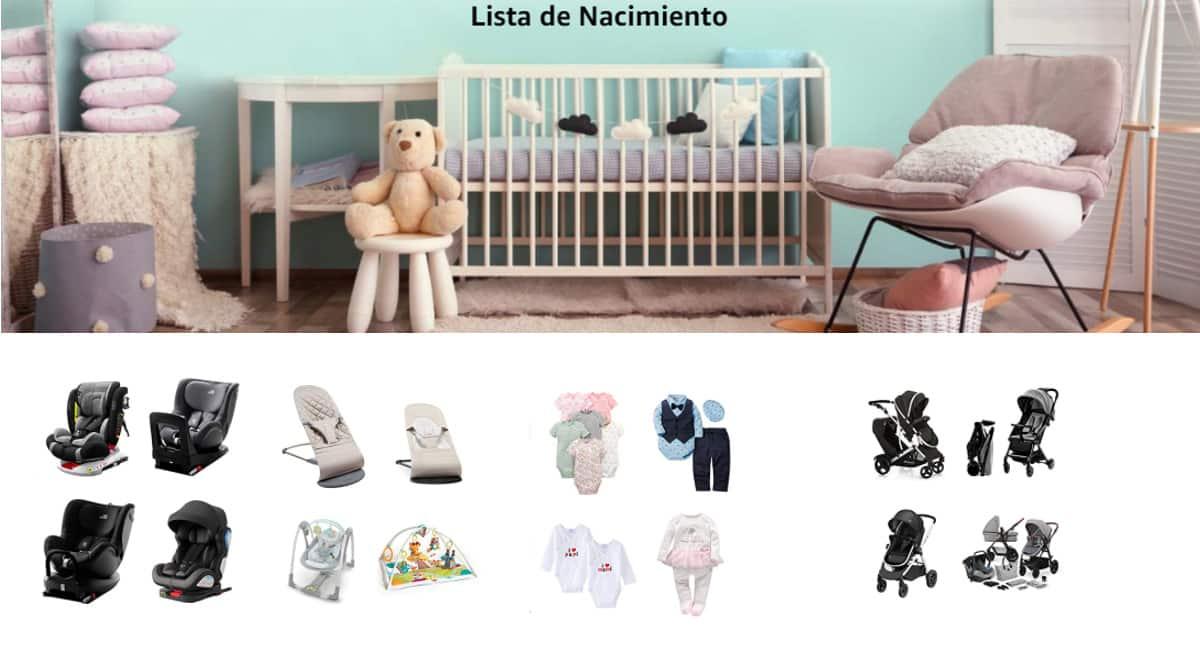 Ahorra con la lista de nacimiento de Amazon, productos para bebé de marca baratos, ofertas para niños, chollo