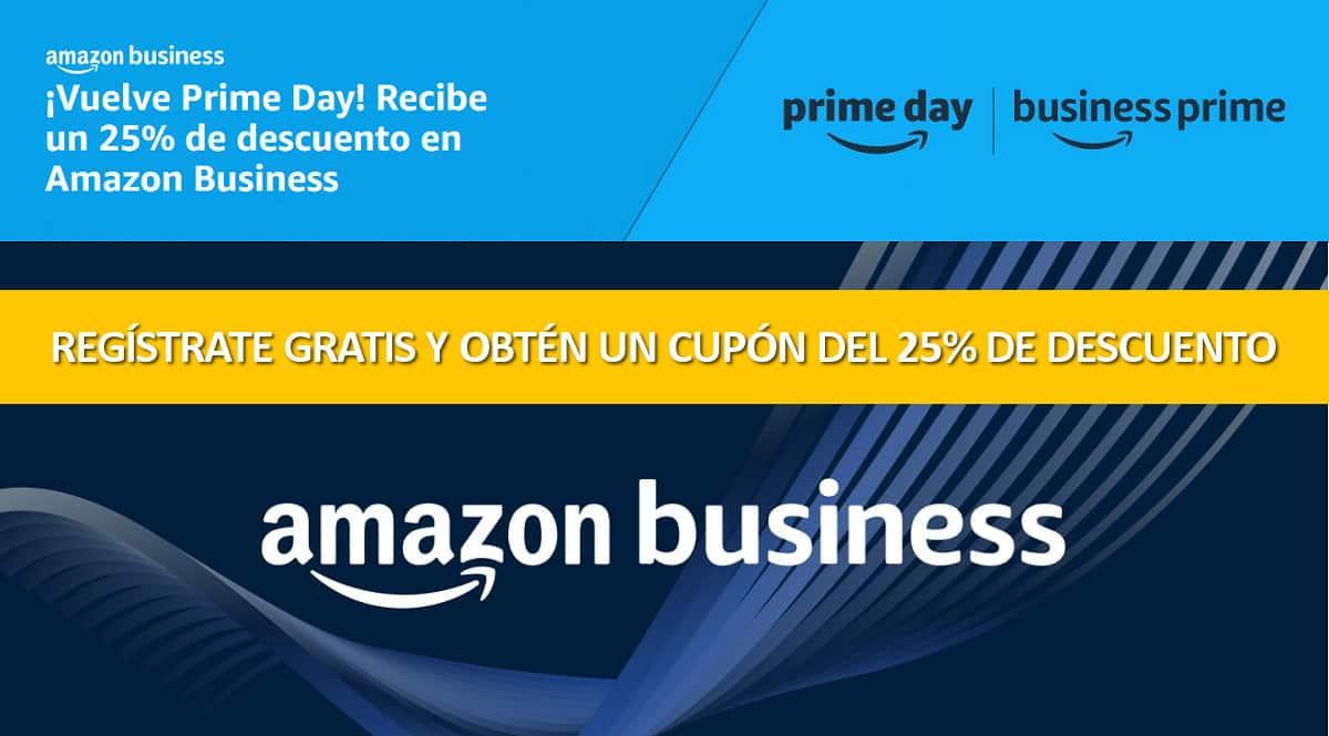 Amazon Business Prime Day 2021, cupón descuento Amazon Business Prime Day 2021, chollo