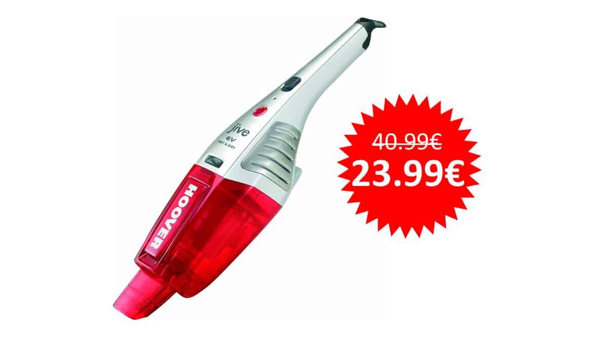 ¡Precio mínimo histórico! Aspirador de mano Hoover Jive SJ60WWR6 sólo 23.99 euros.