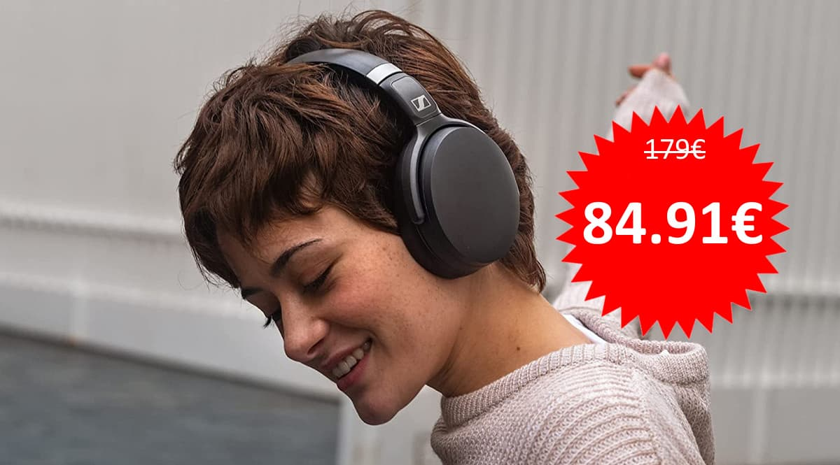 Auriculares inalámbricos Sennheiser HD 450BT baratos, auriculares baratos, ofertas en informatica chollo