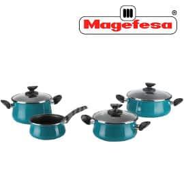 Batería de cocina Megafesa Country barata, baterías de cocina de marca baratas, ofertas hogar