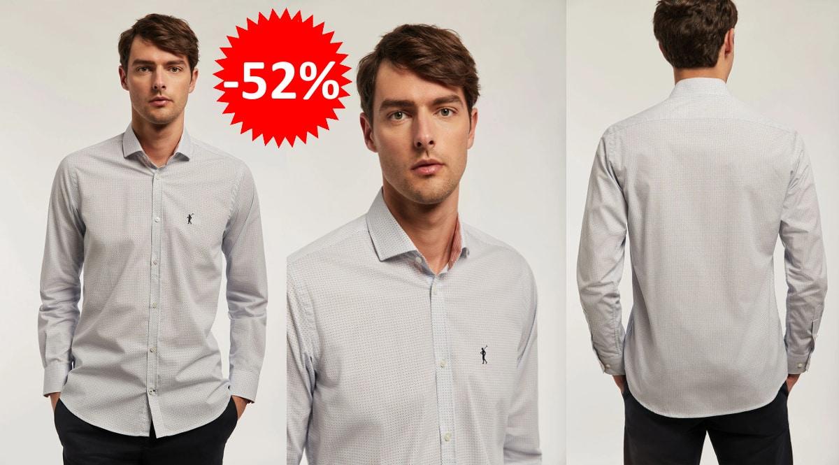 Camisa Polo Club Rigby topos barata, camisas de marca baratas, ofertas en ropa, chollo