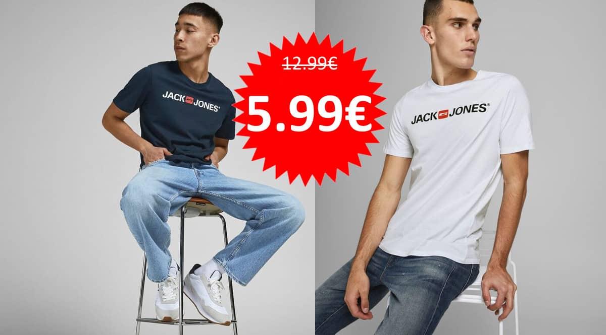Camiseta Jack & Jones Jjecorp barata. Ofertas en ropa de marca, ropa de marca barata, chollo