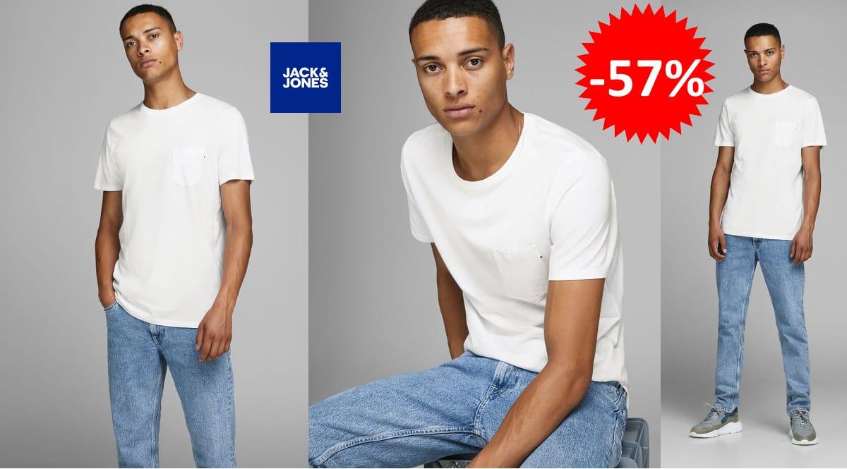 Camiseta Jack & Jones Jjepocket barata, camisetas de marca baratas, ofertas en ropa, chollo