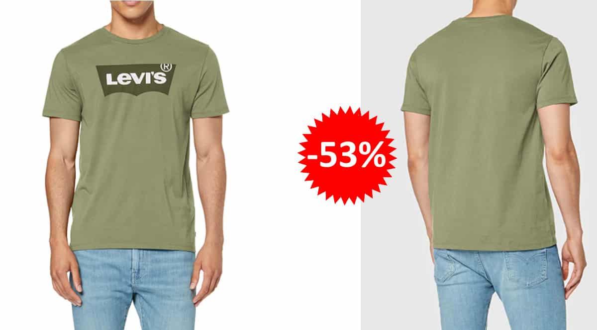 Camiseta Levi's Housemark Graphic barata, cmisetas de mrca baratas, ofertas en ropa, chollo