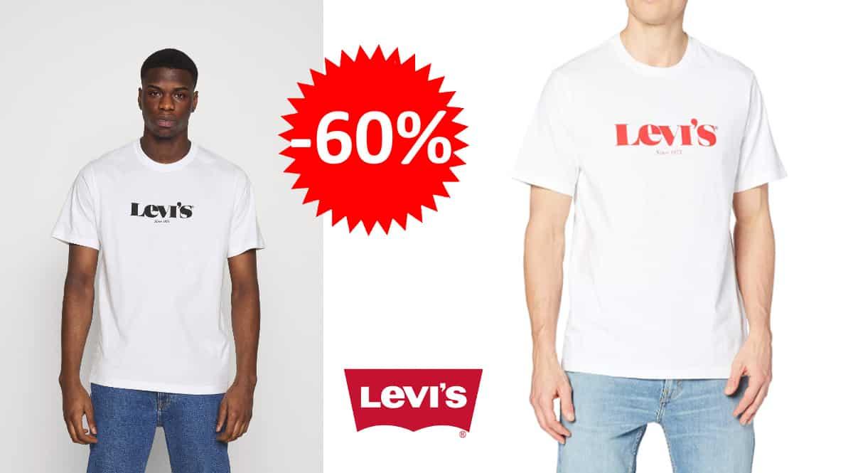 Camiseta Levi's SS Relaxed Fit barata, camisetas de marca baratas, ofertas en ropa, chollo